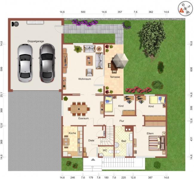 bereits verkauft winkelbungalow in erftstadt mit einliegerbereich u doppelgarage. Black Bedroom Furniture Sets. Home Design Ideas