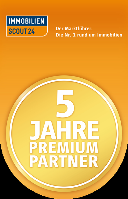 IS24.de - 5 Jahre Premiumpartner-