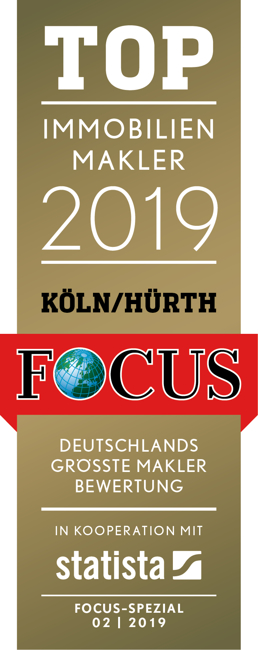 Top-Makler Focus2019, Köln-Hürth